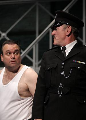 Loveable rogue - Shaun Williamson in the famous role of Fletch in Porridge