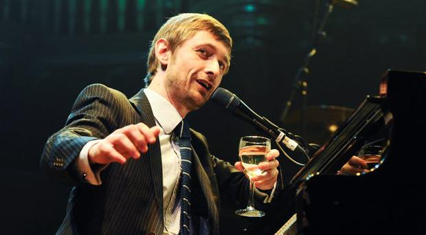 Divine: Neil Hannon played The Divine Comedy's 1994 album Promenade with a string quartet at the Ulster Hall fundraiser