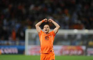 <b>Wesley Sneijder</b><br/> Another World Cup star (and obviously one at club level as well) that United are reportedly interested in is Wesley Sneijder. He led Inter Milan to the Champions League title and Holland to the World Cup final - there are few other players as highly thought of right now as the 26-year-old. The player himself has declared his loyalty to Inter, despite his awareness of United's interest. Ferguson will look to capitalise on the current uncertainty at the club following the departure of Jose Mourinho and the arrival of Rafa Benitez. They're apparently ready to table of a bid of £29m.