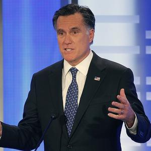 Mitt Romney apparently came out on top after the first of two weekend debates with his Republican rivals (AP)