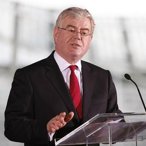 Eamon Gilmore addressed the annual International Lesbian, Gay, Bisexual, Trans and Intersex Association conference in Dublin