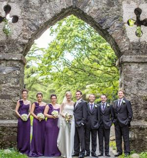 "Helen and Scott Girdlestone on their wedding day. <p><b>To send us your Wedding Pics <a  href=""http://www.belfasttelegraph.co.uk/usersubmission/the-belfast-telegraph-wants-to-hear-from-you-13927437.html"" title=""Click here to send your pics to Belfast Telegraph"">Click here</a> </a></p></b>"