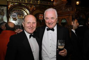 Roy Coyle and Terry Brannigan pictured at The Crown Bar, Belfast
