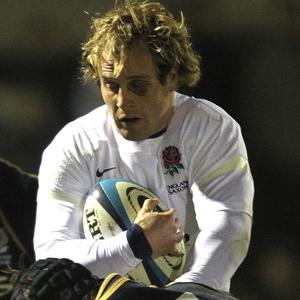 Nick Abendanon claimed a hat-trick as England defeated the Northern Barbarians