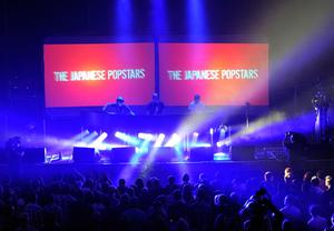 BELFAST, NORTHERN IRELAND - NOVEMBER 05:  The Japanese Popstars perform during a MTV Live Event ahead of the MTV Europe Music Awards 2011 at Ulster Hall on November 5, 2011 in Belfast, Northern Ireland.  (Photo by Gareth Cattermole/Getty Images)