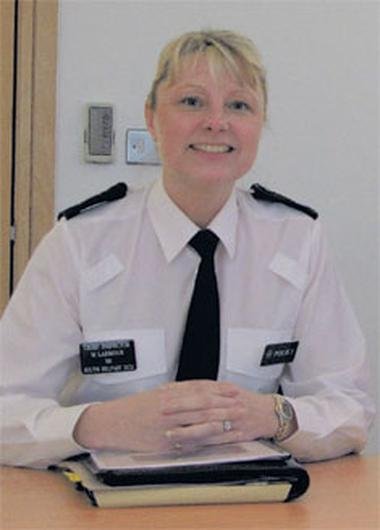 """Chief Inspector Michele Larmour said """"vigilante activity"""" would not help police with community-managed sex offenders"""