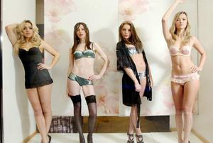 La Senza mannequins came alive in the windows of Castle Court  as part of West Coast Cooler Fashion week.