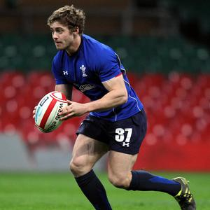 Wales' Leigh Halfpenny during a Training Session at the Millennium Stadium, Cardiff