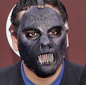 Paul Gray from the group Slipknot who was found dead in a hotel room (AP)