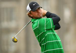 Lucas Glover at The Open. July 2010