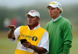 Marcel Siem at The Open. July 2010