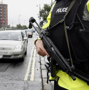 A man has been charged over the murder of a policeman in Northern Ireland almost 30 years ago