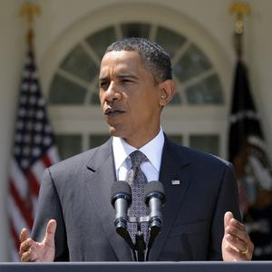 Barack Obama is to keep a promise by making a speech declaring the end of America's combat mission in Iraq (AP)