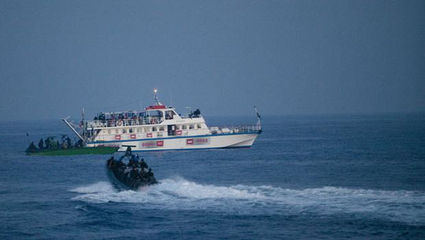 Israeli Navy Intercepts peace boats bound for Gaza