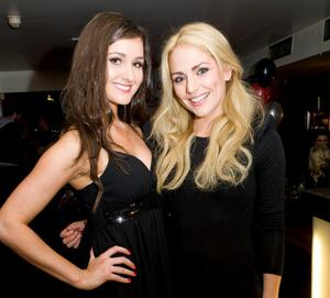 Nikki Cartmill and Jenny Curran at the Apartment Bar of the Decade Party
