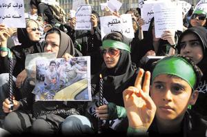 War and peace: women played their part in the Arab Spring