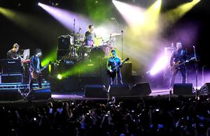 Stereophonics live on stage at Belsonic music festival