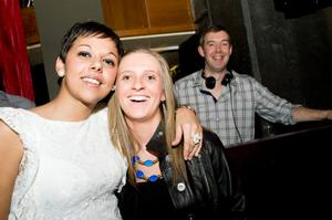 The Northern Whig pictured Christine Harris, Paula McClelland and resident DJ Darren Graham