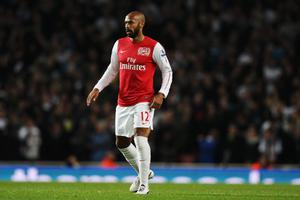 LONDON, ENGLAND - JANUARY 09:  Thierry Henry of Arsenal in action during the FA Cup Third Round match between Arsenal and Leeds United at the Emirates Stadium on January 9, 2012 in London, England.  (Photo by Clive Mason/Getty Images)