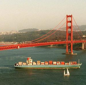 A girl of 16 has survived a 200ft fall from San Francisco's Golden Gate Bridge