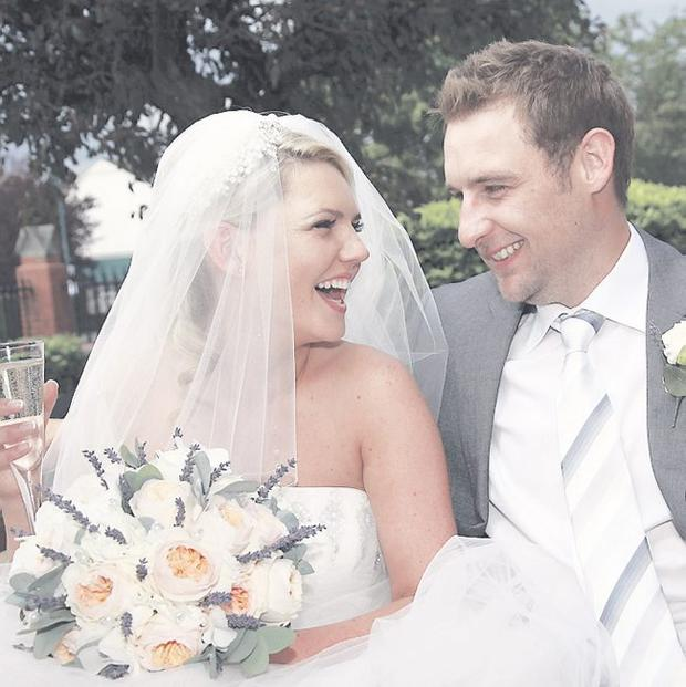 """Tori and Jonny Shaw <p><b>To send us your Wedding Pics <a  href=""""http://www.belfasttelegraph.co.uk/usersubmission/the-belfast-telegraph-wants-to-hear-from-you-13927437.html"""" title=""""Click here to send your pics to Belfast Telegraph"""">Click here</a> </a></p></b>"""
