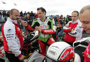 Relentless International North West 200 practice night.Michael Rutter.17th May 2011