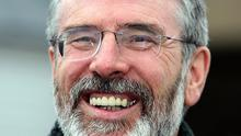 Gerry Adams said he wanted to unite Stormont against 'ideological' Conservative spending reductions