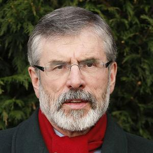 People in republican heartlands are 'seething with anger' over the murder of police constable Ronan Kerr, Gerry Adams said