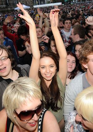 Fans thrilled as Belsonic kicks off in Belfast