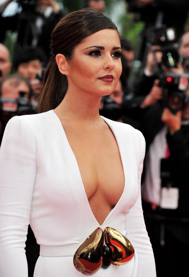 """CANNES, FRANCE - MAY 13:  Singer Cheryl Cole attends the """"Habemus Papam"""" premiere at the Palais des Festivals during the 64th Cannes Film Festival on May 13, 2011 in Cannes, France.  (Photo by Pascal Le Segretain/Getty Images)"""
