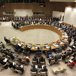 The Security Council is meeting to discuss the situation in Syria at United Nations headquarters in New York (AP)
