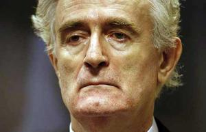 Appearing yesterday before the the UN War Crimes Tribunal, the former Bosnian-Serb leader Radovan Karadzic faces his accusers