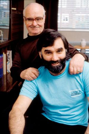 George Best with his father Dickie