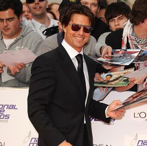 Tom Cruise arriving for the 2010 National Movie Awards at the Royal Festival Hall, London