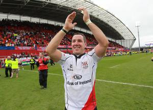 Former Ulster player Paddy Wallace.