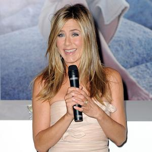Jennifer Aniston says she enjoyed talking dirty for the role