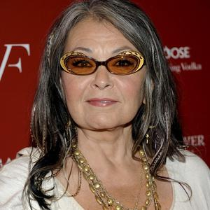 Roseanne Barr locks horns with Sinn Fein chief Gerry Adams