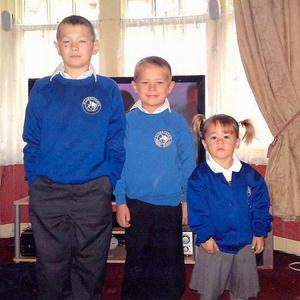 The funerals of William Beale, nine, (left), Anthony Hudson, five, and Maddie Hudson, three, have been held