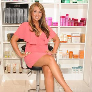 Arsonists have targeted a salon owned by TV star Lauren Goodger