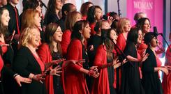Sing it loud: Belfast Community Gospel Choir perform at the 2010 Belfast Telegraph Woman of the Year Awards and are set to return as we present the first Making The Difference Awards at the Grand Opera House in Belfast on Wednesday night