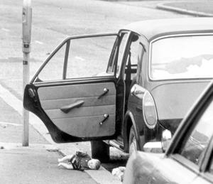 The IRA set off 26 explosions in Belfast, which killed 11 people and injured 130. 7 people were killed in Oxford Street bus station and 4 at a shopping centre on the Cavehill Road.
