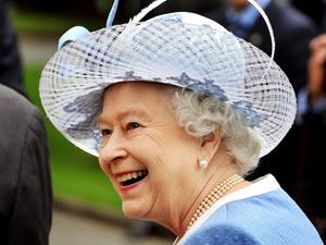 KILDARE, IRELAND - MAY 19:  Queen Elizabeth II tours the Irish National Stud, during the third day of the state visit to Ireland, on May 19, 2011 in Kildare, Ireland. The Duke and Queen's visit to Ireland is the first by a monarch since 1911. An unprecedented security operation is taking place with much of the centre of Dublin turning into a car free zone. Republican dissident groups have made it clear they are intent on disrupting proceedings.  (Photo by John Stillwell - Pool/Getty Images)