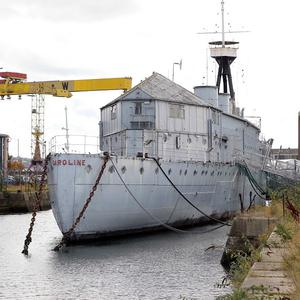 HMS Caroline is the last surviving warship of the First World War
