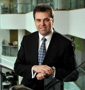 Invest NI chief executive Alastair Hamilton has championed the role of apprenticeships