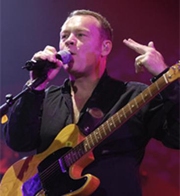 Ali Campbell of UB40 on stage