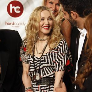Madonna opened her first gym and taught a dance class