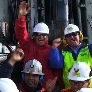 Chile's mining minister has said 33 men trapped for more than two months will probably start to be pulled out on Wednesday (AP)