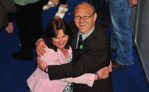 Northern Ireland Assembly election May 2011: Sinn Fein's Paul Maskey and Jennifer McCann are  elected on the first count  for West Belfast