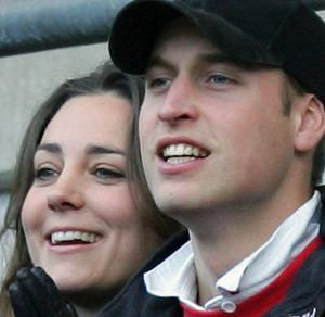 Prince William and Kate Middleton watch England versus Italy during the Six Nations at Twickenham