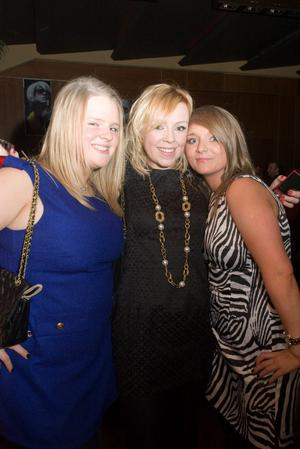 The Northern Whig pictured Cheryl Campbell, Kirsty Smyth and Jennifer McDowell